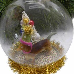 Weihnachtsdeko Dackel