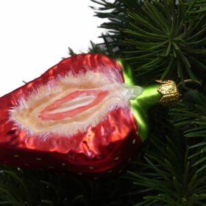 Weihnachtsdeko Erdbeere
