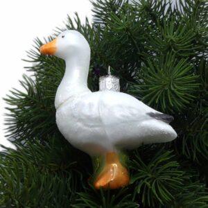 Weihnachtsdeko Gans