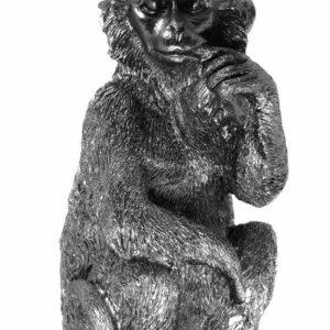 Affe Wandaufhängung schwarz
