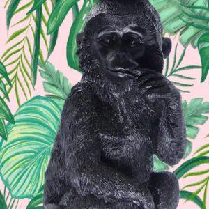 Affe Kerzenständer M mit Hintergrund